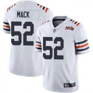 Bears Khalil Mack White Jersey